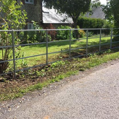 A customers estate fencing and gates.
